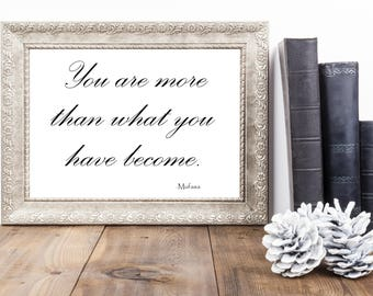 Disney Movie Quote | Quote from The Lion King | Printable Disney Quote | Instant Download