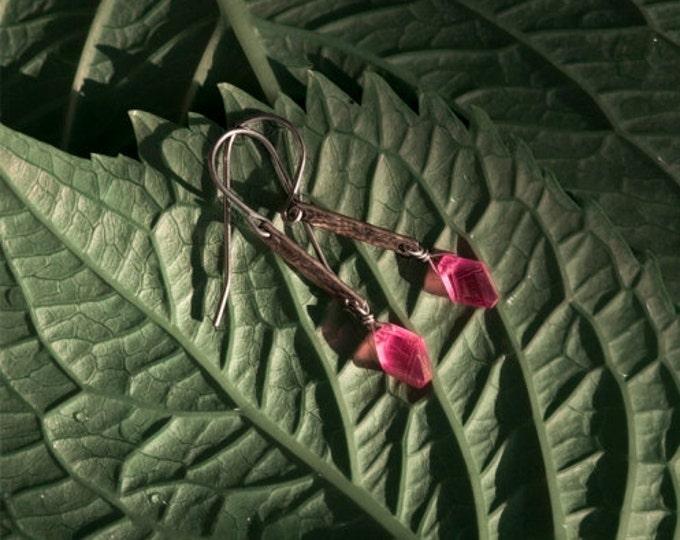 Insouciant Studios Steel Roses Earrings