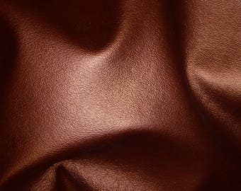 """Leather 12""""x20"""" or 10""""x24"""" or 15""""x15"""" Dark Copper UPHOLSTERY (not real soft) Cowhide 3-3.5 oz /1.2-1.4 mm PeggySueAlso™ E2890-01"""