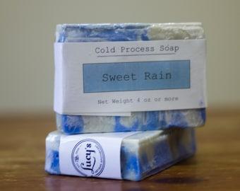 Sweet Rain Cold Process Soap