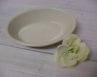 Vintage Ironstone Restaurantware? Oval Sidedish Ovenware 9 ounce