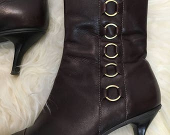 90's Joan & David Ankle Boots