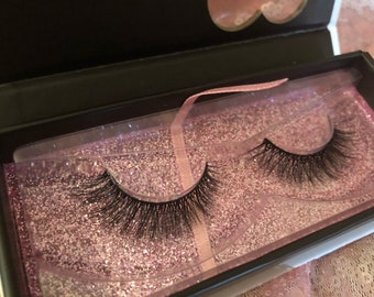 3D Faux Mink Silk Eyelashes Christina Style