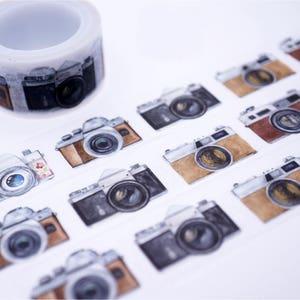 SALE!! Cameras Tape/Deco Masking Tape/Planner Sticker/ Scrapbook Tape/ Deco tape  TZ2257
