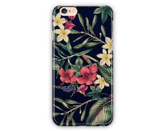 Flowers Tropic iPhone Cases & Samsung Edge Cases