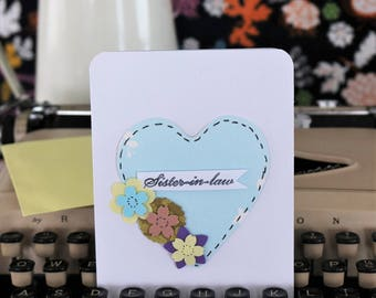 Sister in Law Greeting Card