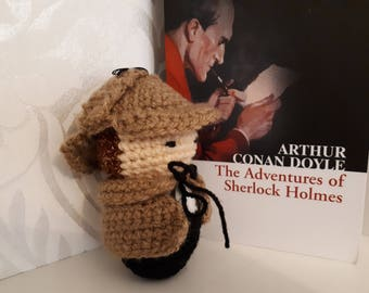 Sherlock Holmes Book and Figure Gift set