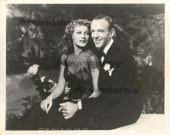 "Vintage Photograph & Fred Astaire Rita Hayworth ""You Were Never Lovelier"", circa 1942"