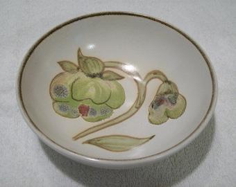"Vintage Denby England Stoneware Soup Cereal Bowl Troubadour Pattern 6 1/2"""