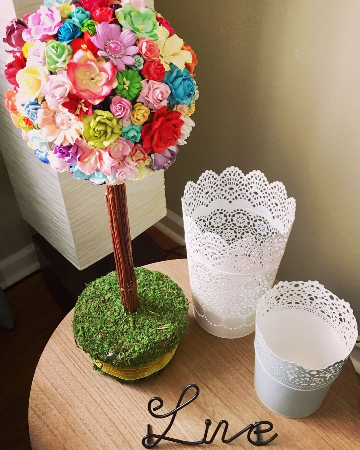 Paper Flower Spring Topiary Mulberry Paper Flowers Spring