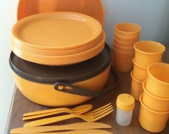 70's picnic set