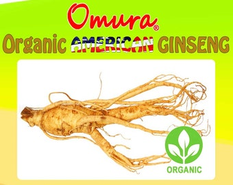 Omura ORGANIC AMERICAN GINSENG Sliced