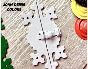 Cabinet Latch VINTAGE 2 Piece Choose John Deere Color Gray-Green-Black