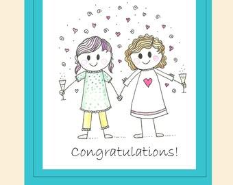 Congratulations Card -(Style C)