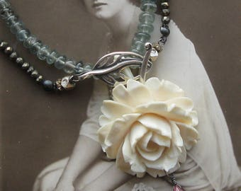 in full bloom . necklace