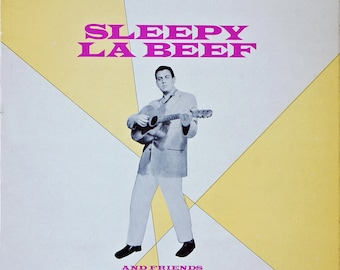 Sleepy La Beef And Friends 1957 - 10 inch Vinyl Record Rockabilly Album - 1979 UK Re-Issue - Ace Record Label.