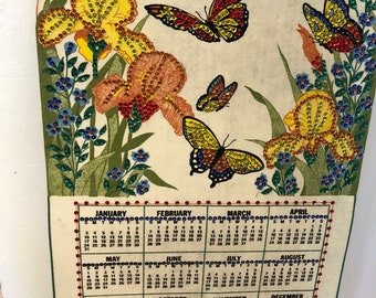 Bucilla 1988 Wall Calendar with Sequins