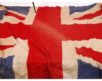 Original Vintage Union Jack Flag