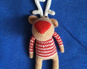 Deer toy/Knitted toys/Amigurumi/Amigurumi animals/Knit toy/Knitted deer/Soft toy/Toy/Toy Forest/crochet/ baby deer