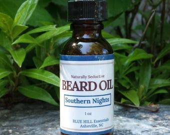 Southern Nights Beard Oil/Father's Day Gift/Gift for Him/Beard Products/Male Grooming/