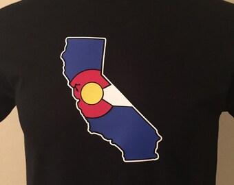 Colorado Flag California State T-Shirt