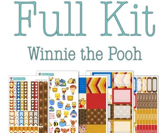 Winnie the Pooh Collection - Disney Planner Stickers