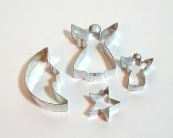 Angels, Moon And Star Cookie Cutter Collection -Celestial