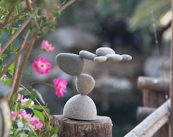 Balanced Rock Cairn Statue