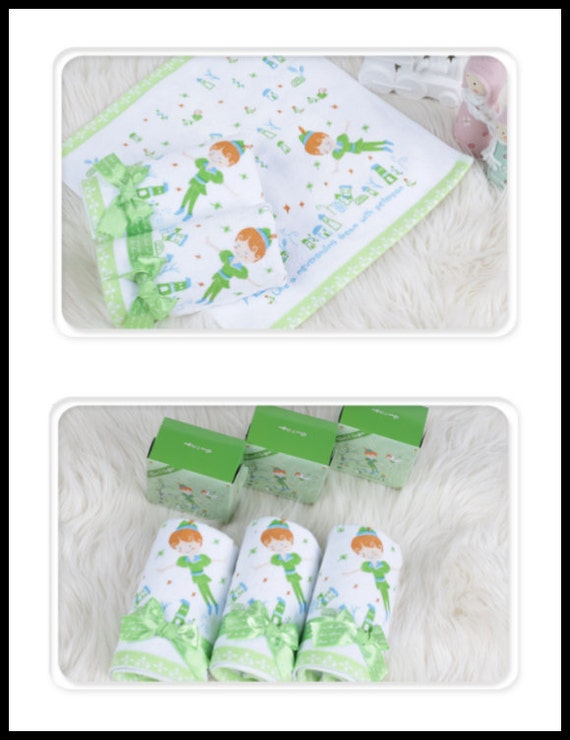 Baby Shower, Kids Birthday, Very Fancy, Cute And High Quality Peter Pan  Character Big Wash Cloth