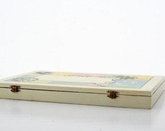 Jewelry Box- Handcrafted Wooden Jewelry Box, Jewelry Organizer, wood jewelry box