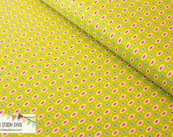 Lime Mariner Dots from Michael Miller's Into The Deep by Patty Sloniger