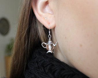Teapot earrings – for the tea lover in your life!