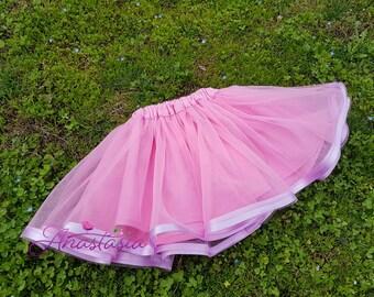 Pink tutu skirt up to 8 years