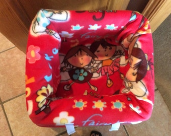 Restaurant Highchair Seat Cover, Fairy Angles and Best Friends