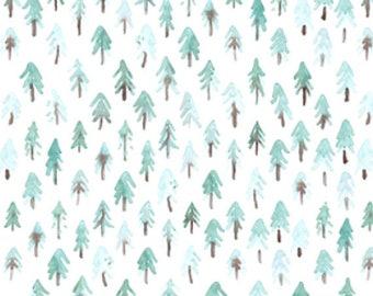 Lovey Fir Trees. Lovey. Woodland Lovey. Tree Lovey. Aqua Lovey. Mini Baby Blanket. Security Blanket. Lovie. Minky Lovey.