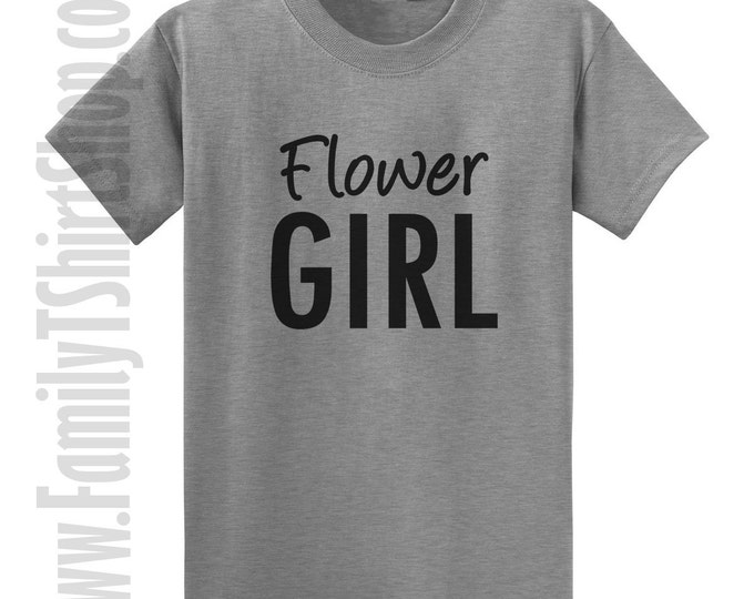 Flower Girl 2 T-shirt