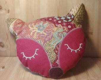 Red Fox pillow