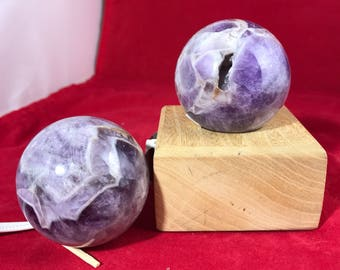 Amethyst Crystal Balls