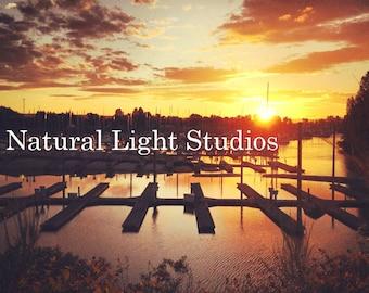 Digital Photo Download - Sunset at the Docks