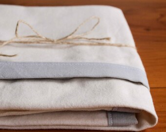 Modern Gray Baby Blanket, Soft Grey Swaddling Blanket, Organic Baby and Toddler Essentials; Modern Baby Gear; Simple Baby Bedding; ASH