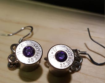 Bullet Casing Drop Earring