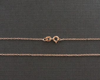 Rose gold chain Etsy