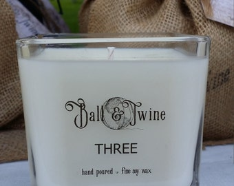 Ball & Twine THREE Soy Candle