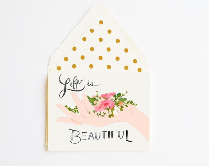 Life is Beautiful Card
