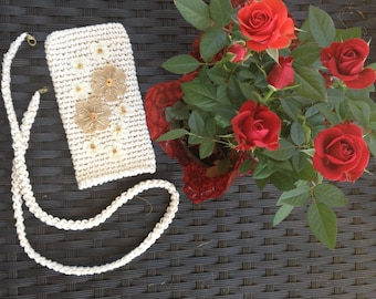 Cross Body Cell Phone Pouch .Carry your cell phone in style !!!!!!!