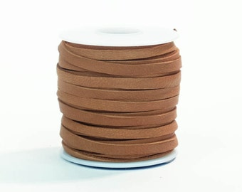 Tan Deerskin Lacing - (1) 50 foot spool, 3/16th inch lace (297-316x50TA)