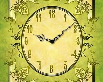 VC08 Midnight Star - Victorian Clock Face