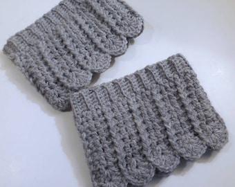Boot cuffs crochet boot cuffs