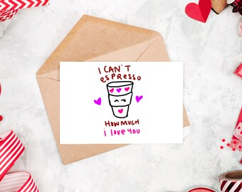 Card for Her | Valentine Card | Valentines Day Card | Funny Card | Valentines Day | Funny Valentine Card | Valentines Gift | Valentine's Day