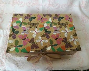 Handmade Butterfly Gift Box